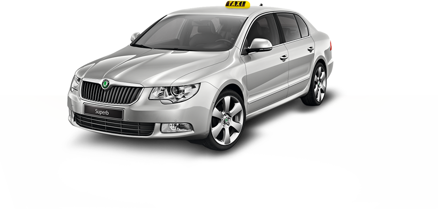 Skoda Superb 2 od TaxiAuta.cz